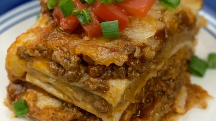 Mexican Lasagna In The Air Fryer