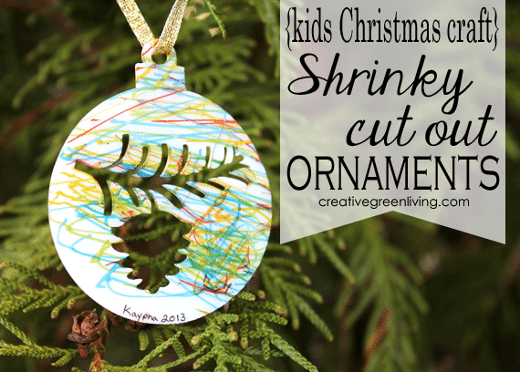 How to Make Shrink Paper Christmas Ornaments