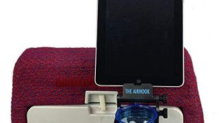 The Airhook 2.0 - Ultimate Air Travel Cup and Electronics Device Holder