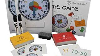 OWLCONIC Telling Time Teaching Game