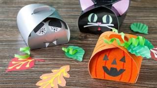 Cricut Halloween Gift Bags