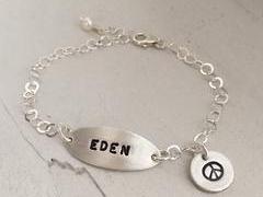 Girls Identity Charm Bracelet