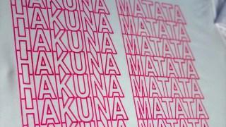 How To Make A Cricut Infusible Ink Pens Hakuna Matata Shirt