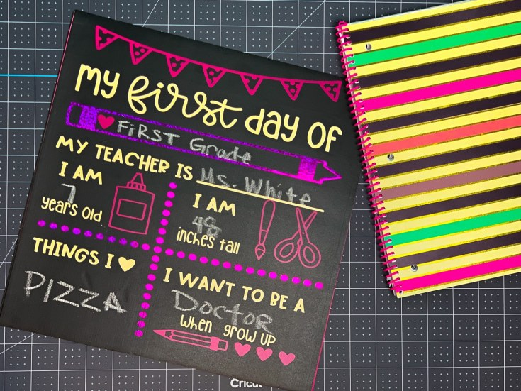 How To Make A Chalk Board Sign
