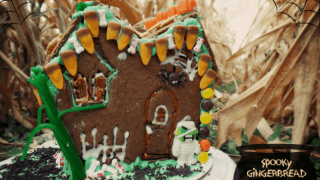 DIY Halloween Gingerbread House Sweet Creations Haunted House Treats