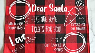 Santa Cookies Tray - FREE SVG - The Denver Housewife