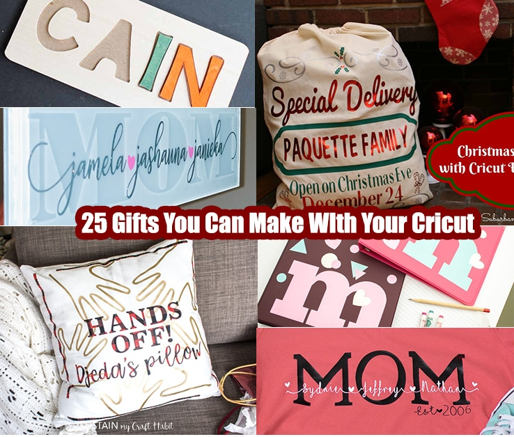 25 Easy DIY Gifts You Can Make And Personalize With Your Cricut