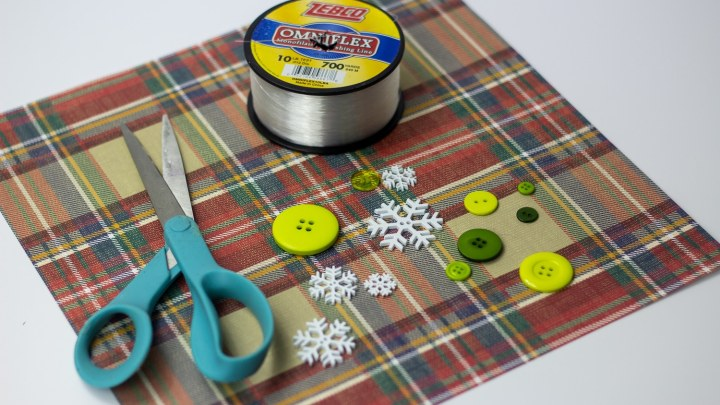 How To Make Button Christmas Tree