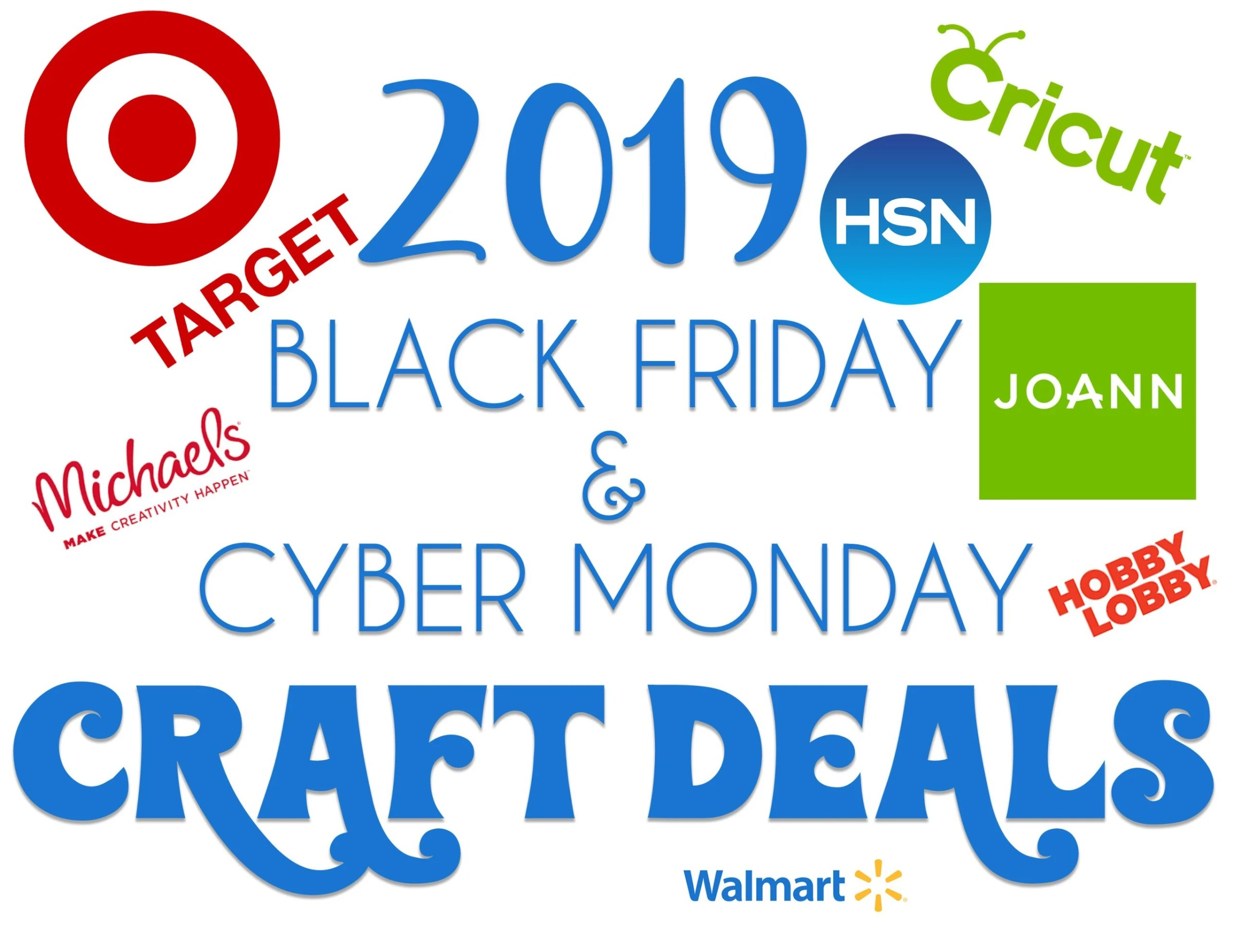 Black Friday 2019 For Cricut Crafters