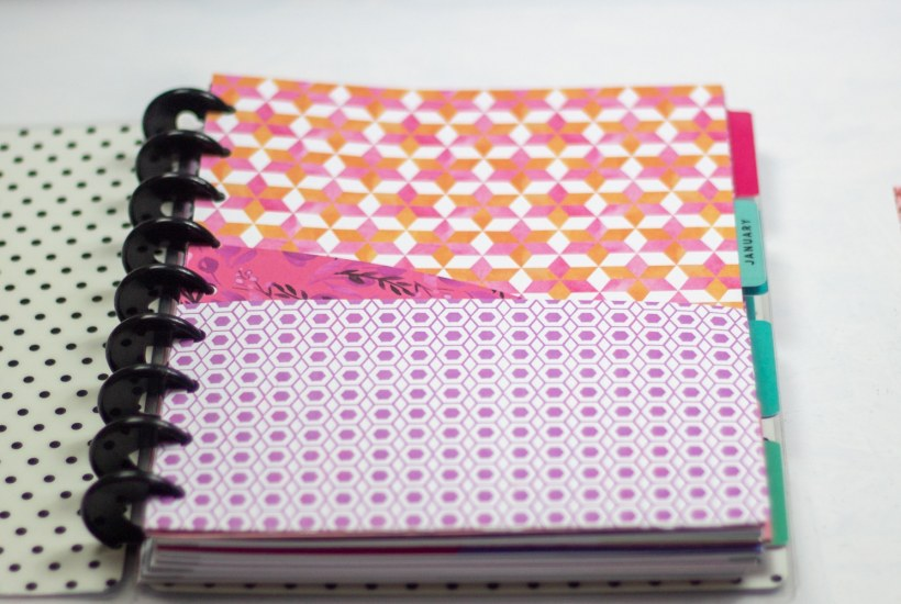 diy planner pocket folder inside a happy planner classic planner