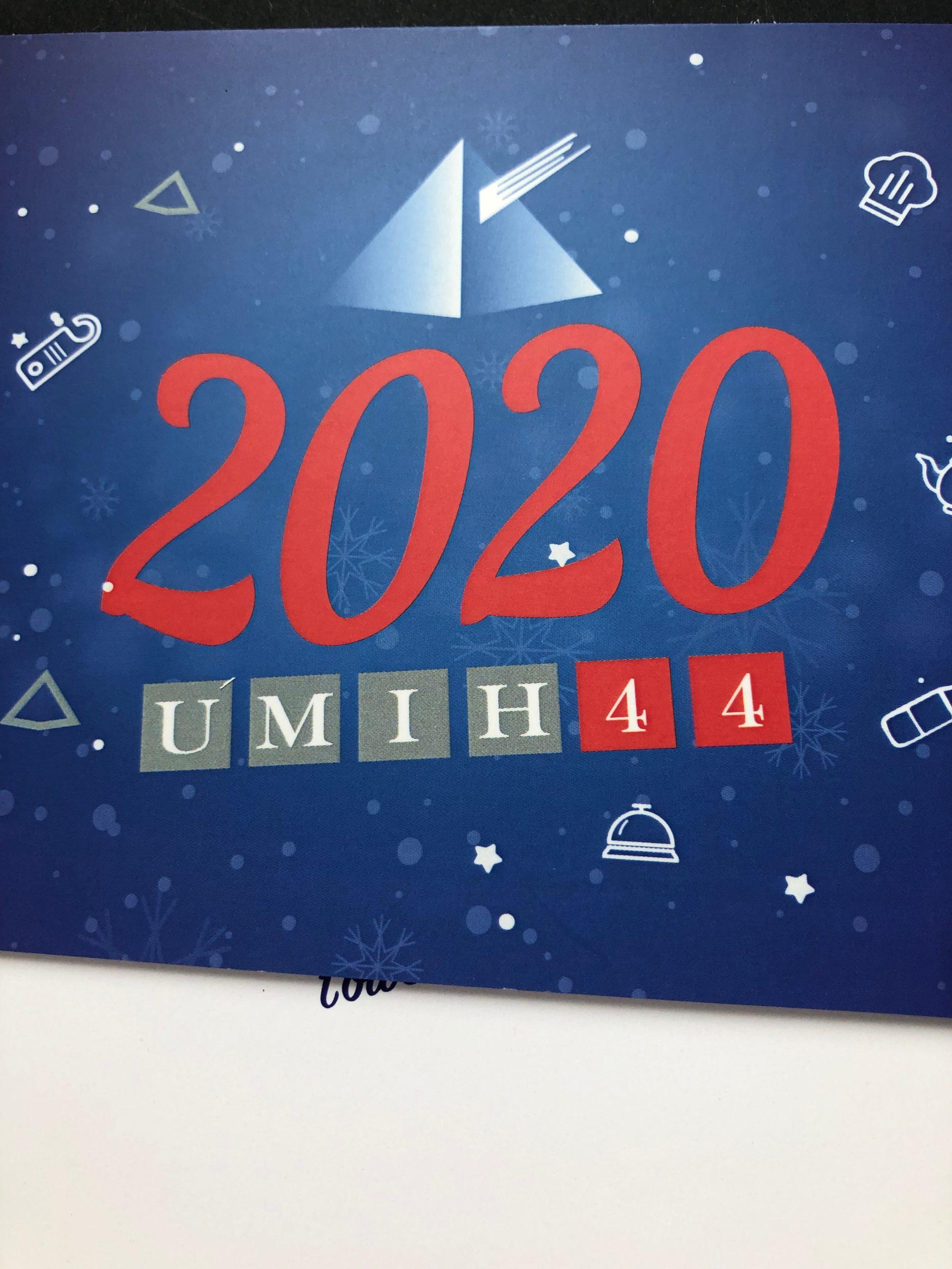 UMIH carte de voeux 2020