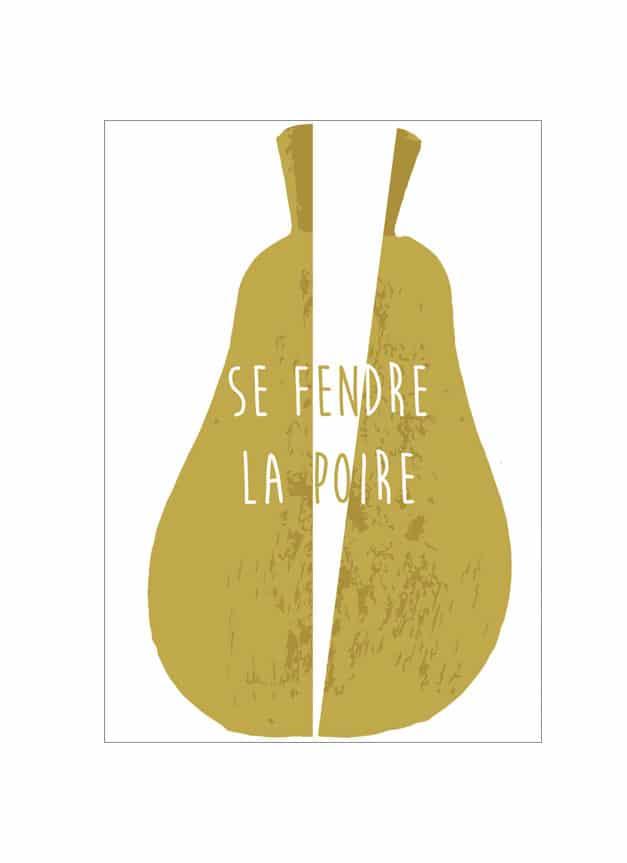 Couper La Poire En Deux : couper, poire, Fendre, Poire, By-VS, (Vibes, Satisfaction)