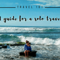 A Guide for a Solo Travel
