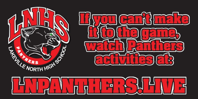 LN Panthers Banner