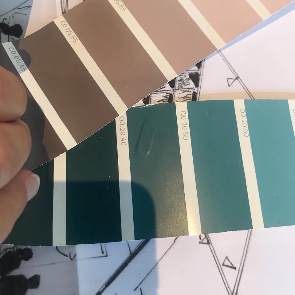kleuren stalen