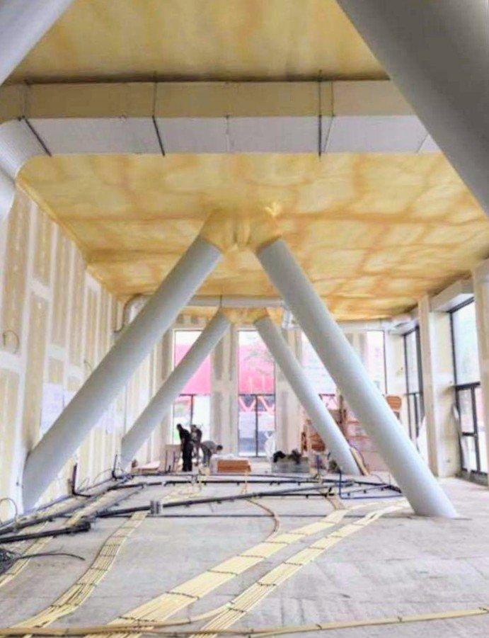 restaurant under construction