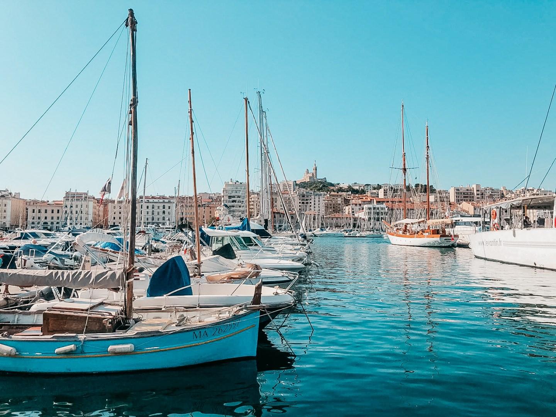Itinéraire d'une journée à Marseille