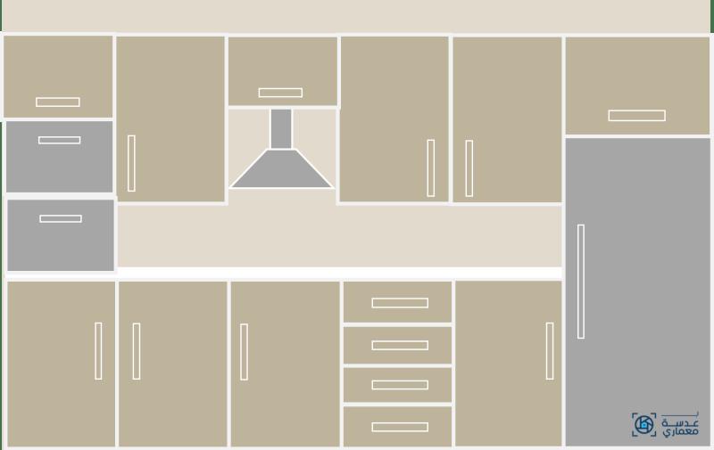 أحدث تصميمات المطابخ لعام 2021-واجهة مطبخ مفتوح