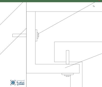 الأدوات المستخدمة في تركيب الأسقف المعلقة-الزاوية المعدنية