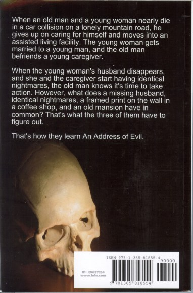 an address of evil back cover
