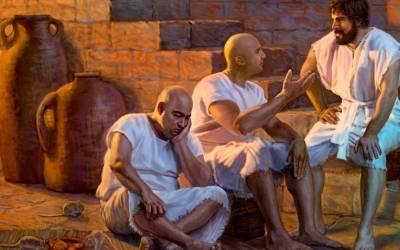 Farao vier sy geboortedag met 'n groot onthaal