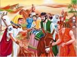Tien Kanaänitiese spioene weer vas