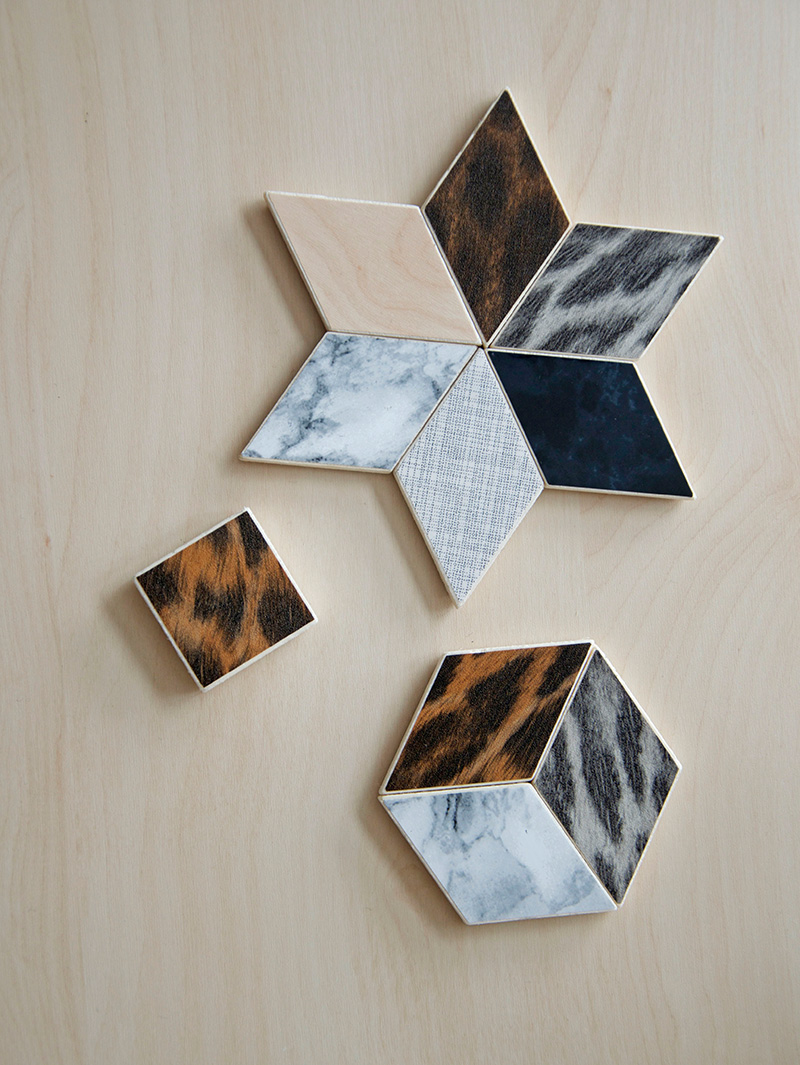 diy-geometric-magnets-contact-paper
