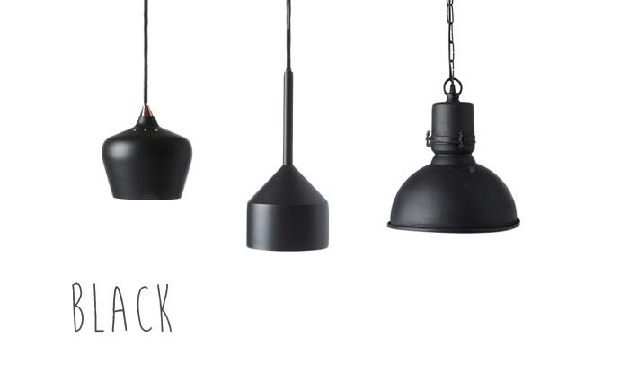 Lamp mix black from ILVA