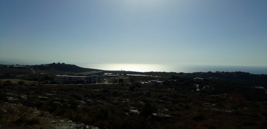 Land for Sale Gharzouz Jbeil Area 882Sqm
