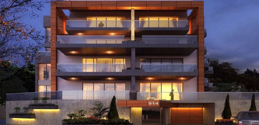 Apartment for Sale Fidar ( Halat ) Jbeil B1 Floor Area 188Sqm and 70 Sqm Terraces