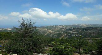 Land for Sale Kfoun ( Sarhit ) Jbeil Area 1300Sqm