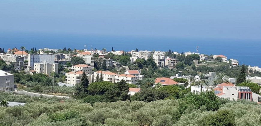 House for Sale Aamchit Jbeil Building Area 632Sqm The Area of the Land 1290Sqm