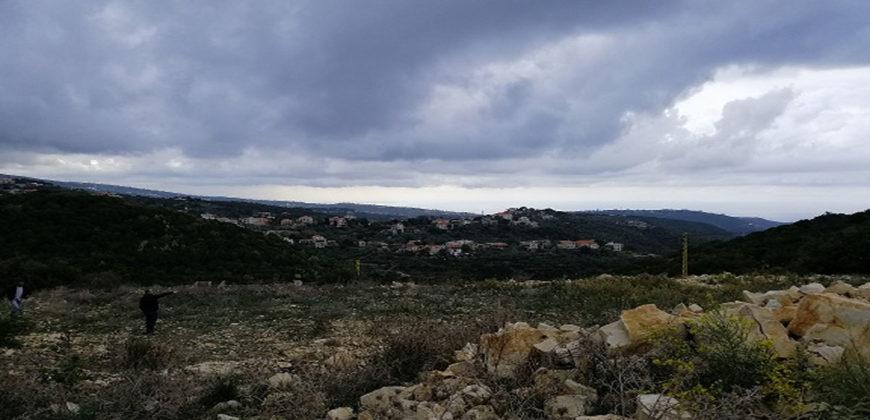 Land for Sale Bejjeh Jbeil Area 1700Sqm