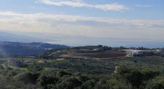Land for Sale Gharzouz Jbeil Area 1390Sqm