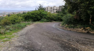 Land for Sale Chnaneir Kesserwan Area 1187Sqm