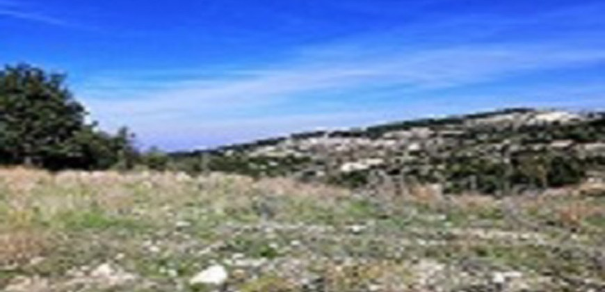 Land for Sale Mechmech Jbeil Area 15817Sqm
