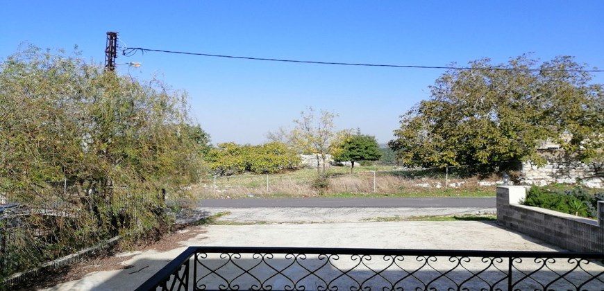 House for Sale Ras Osta Jbeil Building area 609 Sqm and Total Area Land 1050Sqm