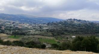 Land for Sale Lehfed Jbeil Area 1864Sqm