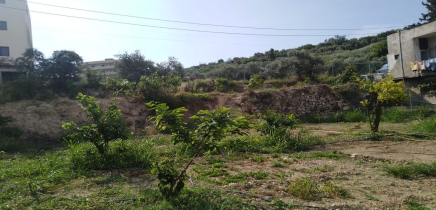 Land for Sale Hosrayel Jbeil Area 1733Sqm