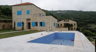 Villa for Sale Chabtine Batroun Housing Area 280 Sqm and Land 900Sqm