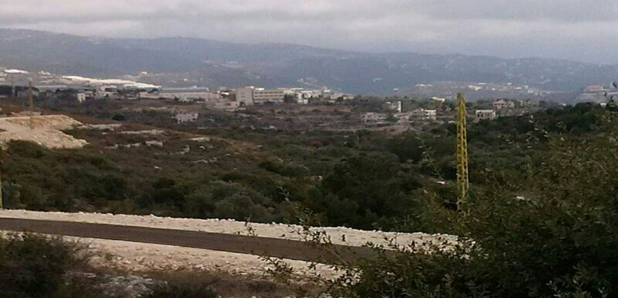 Land for Sale gharzouz Jbeil Area 2000Sqm
