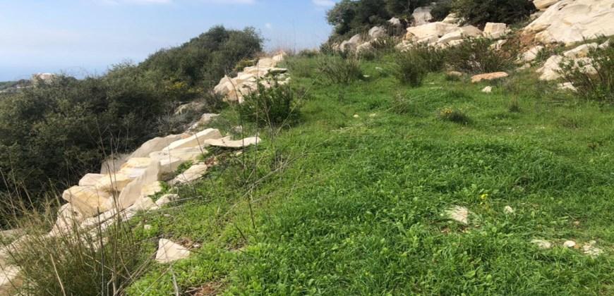 Land for Sale Barij Jbeil Area 810Sqm