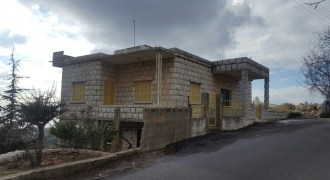 House for Sale Aannaya – Kfar Baal Jbeil Housing Area 330Sqm The Area of the Land 1100Sqm