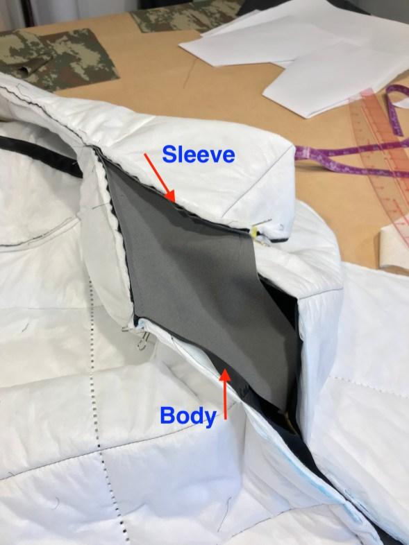 Underarm Gusset : underarm, gusset, Jacket, ByBorman