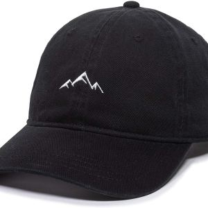 Mountain Dad Hat Baseball Cap Embroidered Cotton Adjustable