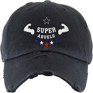 Super Abuelo Chard Dad Hat Baseball Cap Embroidered Cotton Adjustable