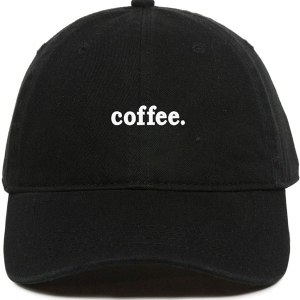 Coffee Dad Hat Baseball Cap Embroidered Cotton Adjustable