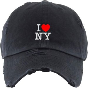I Heart NY Dad Hat Baseball Cap Embroidered Cotton Adjustable