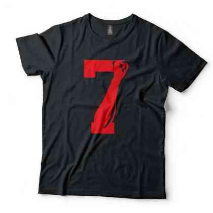 Anvil Colin Kaepernick Fist 7 Graphic Printed Soft Cotton T-Shirt