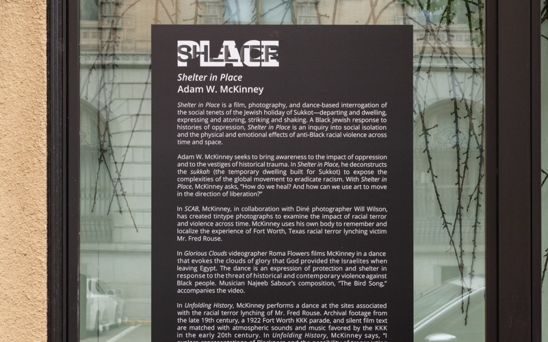 Virtual Tour of 'Shelter in Place' and Artist Talk with Adam W. McKinney
